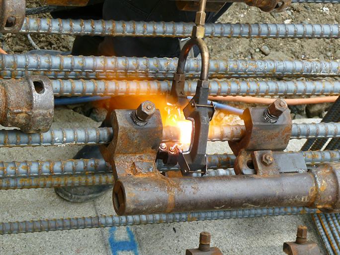 高分子天然ガス圧接